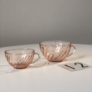 medium rosaline tasse café